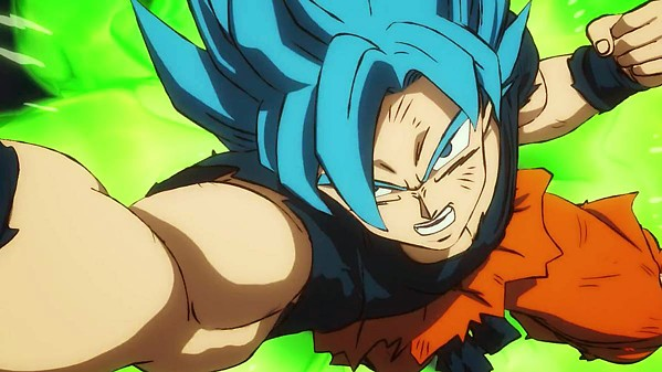FLIGHT AND FIGHT! Goku and Vegeta face off against Broly, a Saiyan warrior with amazing powers, in Dragon Ball Super: Broly. - IMAGE COURTESY OF FOX INTERNATIONAL PRODUCTIONS