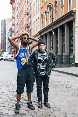 NYC ELECTRO Über-hip New York City-based electronic duo The Knocks play the Fremont Theater on Feb. 1. - PHOTO COURTESY OF ANDREW SOKOLOW