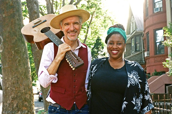 FOR THE KIDS Multi-instrumentalist Dan Zanes and Haitian-American jazz vocalist Claudia Eliaza play a children's concert on Feb. 2, in the Spanos Theatre. - PHOTO COURTESY OF DAN ZANES AND CLAUDIA ELIAZA