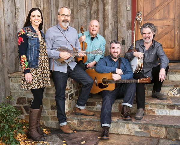 BEYOND BLUEGRASS John Reischman and The Jaybirds play two SLOfolks shows this week: Feb. 2 at Castoro Cellars, and Feb. 3 at Coalesce Bookstore. - PHOTO COURTESY OF JOHN REISCHMAN & THE JAYBIRDS