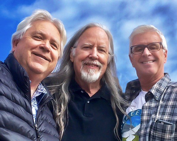CACHE IN! Amazing bluegrass trio The Cache Valley Drifters play a rare show at The Painted Sky Concert Series on Feb. 7. - PHOTO COURTESY OF THE CACHE VALLEY DRIFTERS