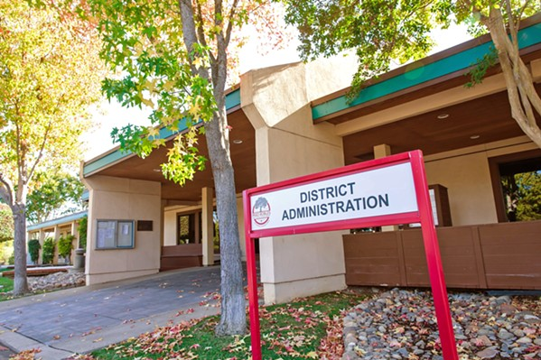 RESIGNATIONS Paso Robles High School Principal Eric Martinez will leave his post at the end of the current school year. The resignation follows Superintendent Chris Williams' departure in December. - FILE PHOTO BY JAYSOM MELLOM