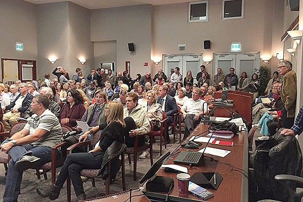 URGENT RULES The Paso Robles City Council passed an urgency ordinance to regulate Airbnb-style vacation rentals. Short-term rentals have been a topic of city discussions since 2015, when the city held workshops about potential rules (pictured). - PHOTO COURTESY OF THE CITY OF PASO ROBLES