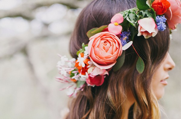 FIT FOR A QUEEN Eden Floral creates floral crowns, bouquets, and other botanical arrangements for various services and events, including bridal showers and weddings of course. - PHOTOS COURTESY OF ALEXANDRA WALLACE