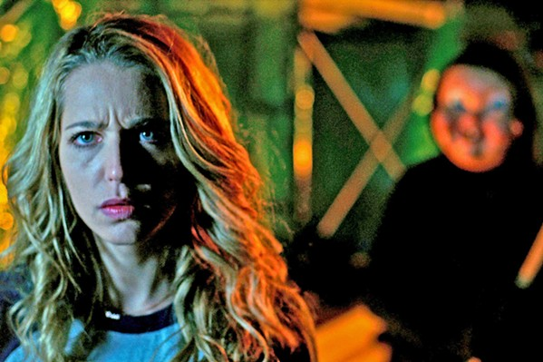 DEAD AGAIN Tree Gelbman (Jessica Rothe), a victim forced to relive her death over and over until she finds her killer, discovers that repeated death is easy compared to what lies ahead, in the sequel, Happy Death Day 2U. - PHOTO COURTESY OF BLUMHOUSE PRODUCTIONS