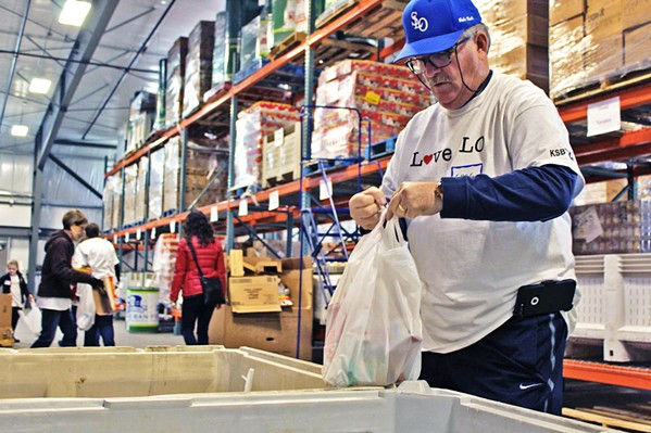 HELPING OUT Nonprofit food banks in SLO and Santa Barbara County helped provide furloughed government workers with food for themselves and their families during the 35-day shutdown. - FILE PHOTO COURTESY OF THE FOOD BANK COALITION OF SLO COUNTY