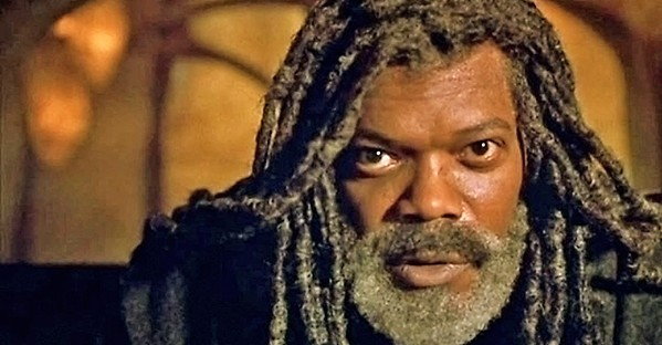 CAVE ALLEGORY Samuel L. Jackson stars in director Kasi Lemmons' mystery-drama, The Caveman's Valentine. - PHOTO COURTESY OF FRANCHISE PICTURES