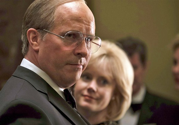 PUPPETMASTER Christian Bale stars as Vice President Dick Cheney, who wielded unprecedented power in a position usually seen as powerless, with guidance from his wife, Lynne (Amy Adams). - PHOTOS COURTESY OF ANNAPURNA PICTURES