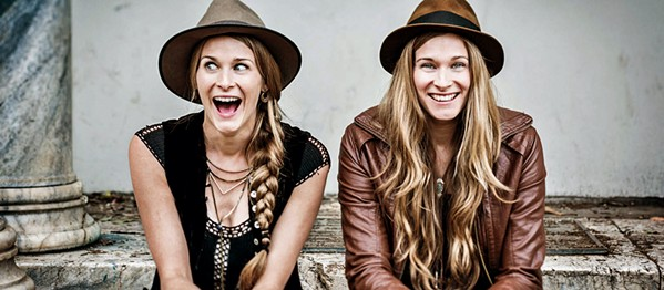 HARMONY Quirky folksters Shook Twins bring their amazing vocal sounds to The Siren on March 1. - PHOTO COURTESY OF SHOOK TWINS