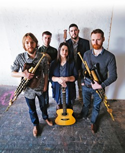 IRISH UP SLOfolks presents Réalta in two shows this week: March 1 at Coalesce Bookstore, and March 2 at Castoro Cellars. - PHOTO COURTESY OF RÉALTA