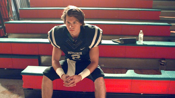 INSPIRE High school football player Zach Truett (Tanner Stine) must persevere through the death of his mother and the abandonment of his father, in the faith-based film Run the Race, screening exclusively at Downtown Centre. - PHOTO COURTESY OF RESERVE ENTERTAINMENT