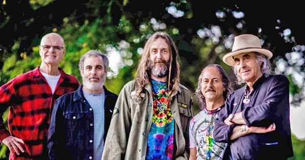 COSMIC CALI Green Leaf Rustlers, former Black Crowes member Chris Robinson's newest super group, plays The Siren on March 19. - PHOTO COURTESY OF GREEN LEAF RUSTLERS