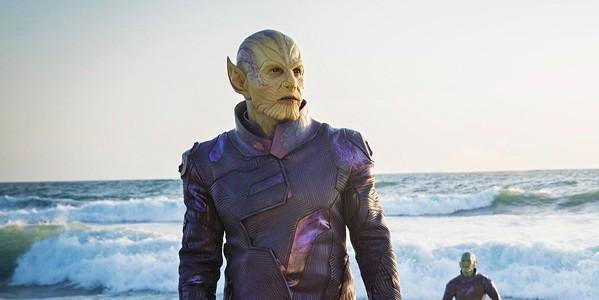 SHAPE SHIFTER Skrull leader Talos (Ben Mendelsohn) arrives on Earth determined to locate Carol Danvers, eventually assuming the identity of a S.H.I.E.L.D. agent named Keller. - PHOTOS COURTESY OF MARVEL STUDIOS