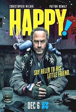 HAPPY! Syfy's Happy! is a hyper-violent, black comedy spectacle based on a comic book. - IMAGE COURTESY OF SYFY