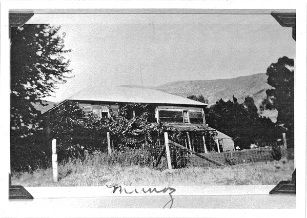 MAKING A HOME The La Loma Adobe is often referred to as the Munoz Adobe after the homeowner Maria Concepcion Boronda married her second husband, Jose Munoz, and took his last name. - PHOTO COURTESY OF THE FRIENDS OF LA LOMA ADOBE