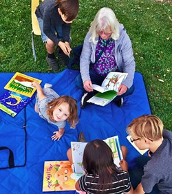 FOR THE KIDS The El Camino Homeless Organization offers a number of art, reading, and nutrition programs for children at its Atascadero shelter. - PHOTO COURTESY OF ECHO