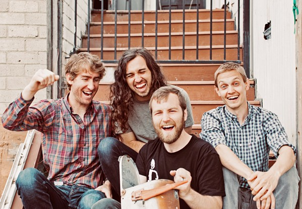 ONE FOR THE ROAD Blue-eyed soul band Próxima Parada plays a March 22 show at the SLO Brew Rock Event Center before heading out on their summer national tour. - PHOTO COURTESY OF PRÓXIMA PARADA