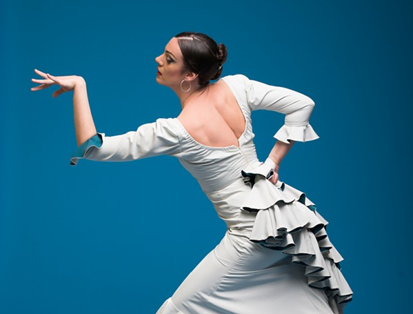 DANCE See Luz, an evening of flamenco, on March 22 at 4 Cats Cafe and Gallery, with dancer Savannah Fuentes. - PHOTO COURTESY OF STEPHEN RUSK