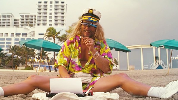 NEVER GROW UP Irreverent stoner Moondog (Matthew McConaughey) lives life by his own rules, in The Beach Bum. - PHOTO COURTESY OF ICONOCLAST
