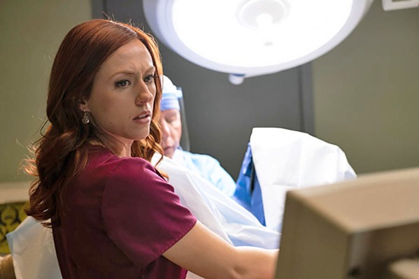 CONTROVERSIAL MEMOIR A former Planned Parenthood clinic director (Ashley Bratcher) becomes an anti-abortion activist, in Unplanned. - PHOTO COURTESY OF PUREFLIX