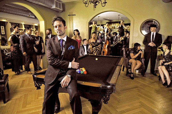 WHAT'S NEW IS OLD Scott Bradlee's Postmodern Jukebox returns to the Fremont Theater on April 10. They sold out last time! - PHOTO COURTESY OF SCOTT BRADLEE'S POSTMODERN JUKEBOX