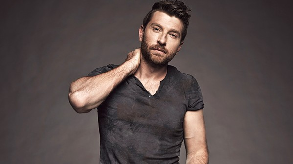 'BEAT OF THE MUSIC' Country music star Brett Eldredge is the season opener at the Avila Beach Golf Resort on April 9. - PHOTO COURTESY OF BRETT ELDREDGE