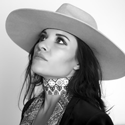SULTRY SLOfolks presents Americana/folk singer Shannon McNally in two shows this week: April 12 in Coalesce Bookstore, and April 13 at Castoro Cellars. - PHOTO COURTESY OF SHANNON MCNALLY