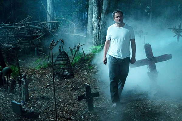 WHAT LIES BEYOND Louis (Jason Clarke) doesn't believe in an afterlife but soon finds out his beliefs are irrelevant to the strange goings on in the woods behind his new home. - PHOTOS COURTESY OF ALPHAVILLE FILMS