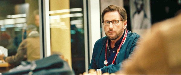 DISOBEY Writer-director-actor Emilio Estevez helms The Public, a drama about homeless people who take over the Cincinnati public library, screening exclusively at The Palm. - PHOTO COURTESY OF HAMMERSTONE STUDIOS