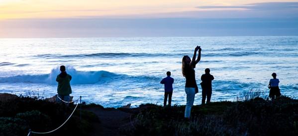 Sunset People - PHOTO BY JAYSON MELLOM
