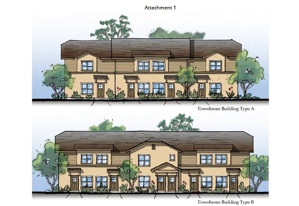 HOUSING FOR ALL SLO County supervisors denied an appeal of a Cambria affordable housing project (pictured) on April 23. - PHOTO COURTESY OF SLO COUNTY