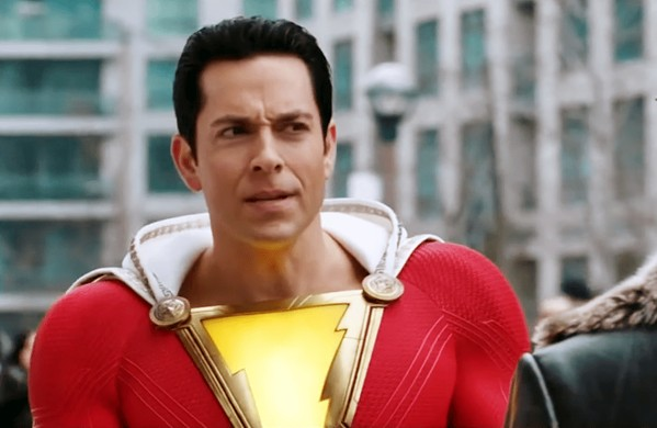 KID AT HEART A young boy transforms into the superhero Shazam (Zachary Levi), but as he's having fun testing his new powers, an evil doctor hunts him to steal the powers for himself, in Shazam! - PHOTO COURTESY OF WARNER BROS. AND DC ENTERTAINMENT
