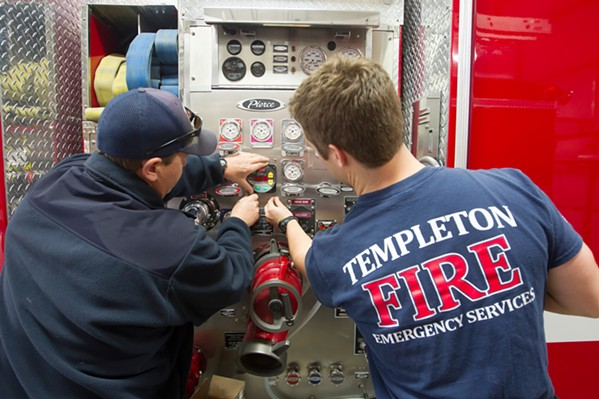 KEEPING IT LOCAL Templeton Fire and Emergency Services is proposing a parcel tax in order to fund its services and personnel. - FILE PHOTO BY JAYSON MELLOM