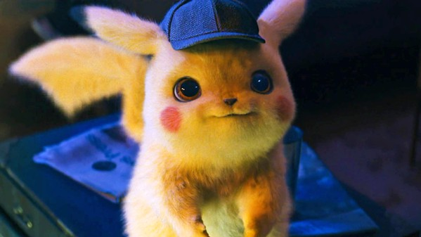 ADORABLE DETECTIVE Detective Pikachu (voiced by Ryan Reynolds) searches for his old Pokémon partner after he goes missing, in Pokémon Detective Pikachu. - PHOTO COURTESY OF LEGENDARY ENTERTAINMENT