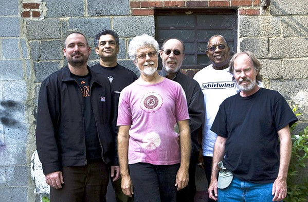 FIFTY YEARS ON Little Feat, with founding member Bill Payne (far right), headlines the Avila Beach Blues Festival at the Avila Beach Golf Resort on May 26. - PHOTO COURTESY OF LITTLE FEAT