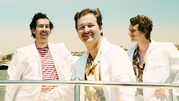 SURF PUNKS! Garage, surf, and punk rock act The Frights play the Fremont Theater on May 23. - PHOTO COURTESY OF THE FRIGHTS