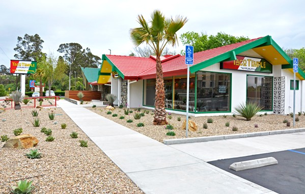 NEW DIGS The recently opened Taco Temple at 1575 Calle Joaquin in San Luis Obispo is the restaurant's second location. The first is in Morro Bay. - PHOTOS BY CAMILLIA LANHAM