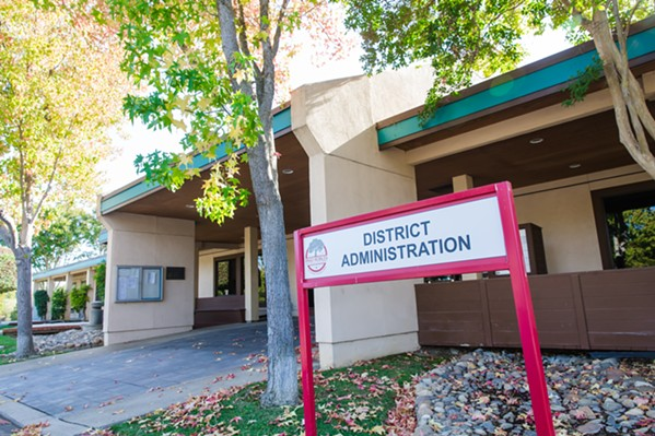 NEW LEADER Curt Dubost, Paso Unified School District's newest superintendent, will begin his duties July 1. - PHOTO BY JAYSON MELLOM