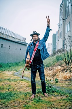 """OPTIMIST Michael Franti and Spearhead play the Avila Beach Golf Resort on May 31, touring in support of Stay Human Vol. II and its amazing new anti-gun violence single, """"The Flower."""" - PHOTO COURTESY OF ANTHONY THOEN"""