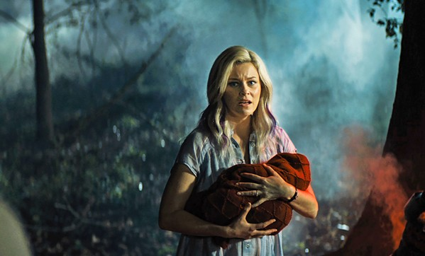 ANTI-SUPERMAN An alien child crash lands on Earth, is taken in by Tori Breyer (Elizabeth Banks), and grows into something evil, in Brightburn. - PHOTO COURTESY OF THE H COLLECTIVE