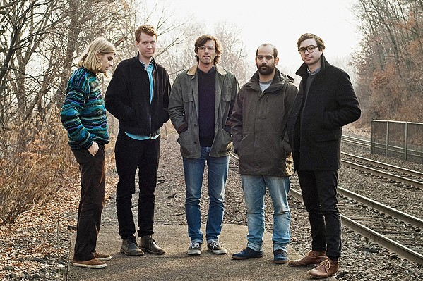 DREAM ROCK New Jersey indie rockers Real Estate play the SLO Brew Rock Event Center on June 6. - PHOTO COURTESY OF REAL ESTATE