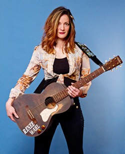 OUTLAW AMERICANA Country singer Renee Wahl plays a slew of upcoming shows, this week on May 31 and June 1, at Puffers of Pismo; and on June 3, at Atascadero's Nautical Cowboy. - PHOTO COURTESY OF DEONE JAHNKE