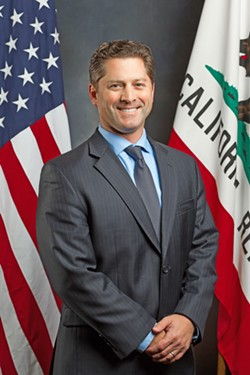 STATE LEVEL In order to combat human trafficking locally, Assemblyman Jordan Cunningham (R-San Luis Obispo) has worked on and continues to create and amend statewide legislation. - PHOTO COURTESY OF JORDAN CUNNINGHAM