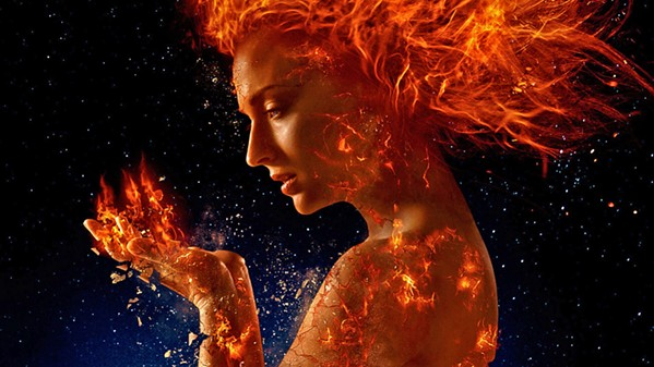 BURN, BABY, BURN In the new X-Men film, Dark Phoenix, Jean Grey (Sophie Turner) develops overwhelming powers that threaten humanity. - PHOTO COURTESY OF 20TH CENTURY FOX FILM CORPORATION