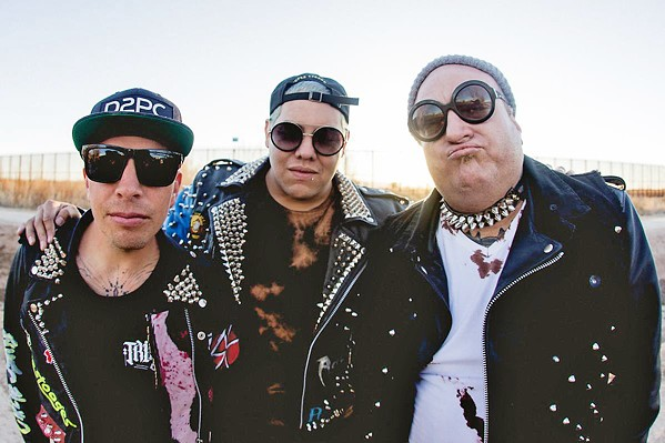 WHAT'S IN A NAME? Ska-punk act Sublime with Rome plays Vina Robles Amphitheatre on June 18. - PHOTO COURTESY OF SUBLIME WITH ROME