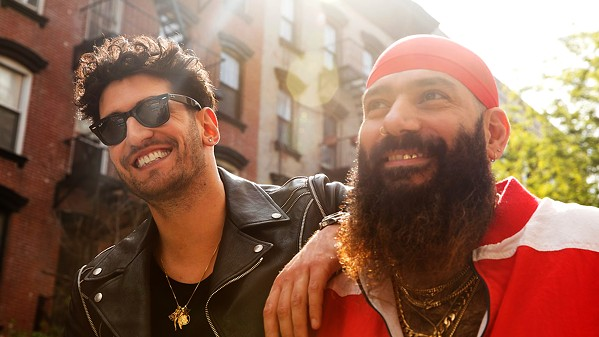 WHERE FOR ART THOU? Canadian electrofunk duo Chromeo plays the SLO Brew Rock Event Center on June 14. - PHOTO COURTESY OF CHROMEO