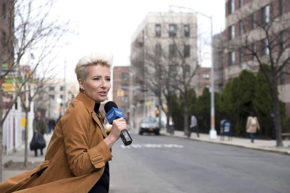 MAKEOVER With low ratings and a new female writer in her all-male writers' room, late-night talk show host Katherine Newbury (Emma Thompson) hopes to revive her flagging career, in Late Night. - PHOTO COURTESY OF 3 ARTS ENTERTAINMENT