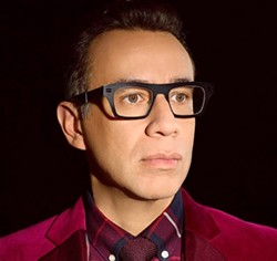FUNNY MAN Actor, comedian, and musician Fred Armisen combines his talents for Comedy for Musicians but Everyone is Welcome, his comedy/music show at the Alex Madonna Expo Center on June 24. - PHOTO COURTESY OF FRED ARMISEN