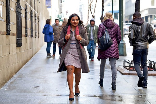 BELIEVER Mindy Kaling stars as writer Molly Patel, who's hired as the first female writer of a late-night talk show host who hopes to revive her flagging career, in Late Night. - PHOTO COURTESY OF 3 ARTS ENTERTAINMENT