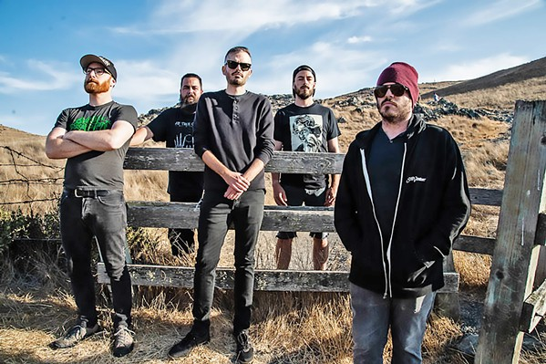 HEAD BANGERS Local thrash metal band Cryptolith is one of 14 acts playing the Mid-State Metal Fest, June 28 at Sweet Springs and June 29 at The Graduate. - PHOTO COURTESY OF KRYSTAL OTIS